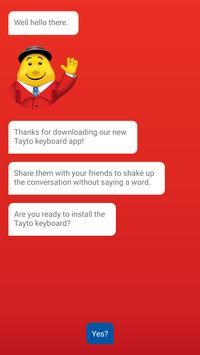 Tayto Keyboard poster
