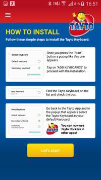 Tayto Keyboard apk screenshot