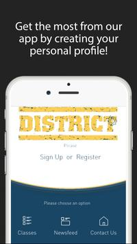 District Health and Fitness apk screenshot