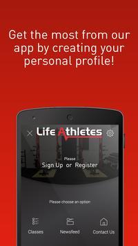 Life Athletes apk screenshot