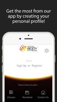 Total Body Fitness Killarney apk screenshot