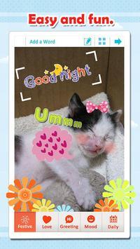 WordArt Photo Sticker apk screenshot