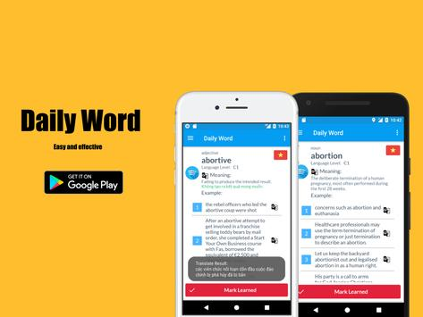 IELTS Vocabulary Builder (7000+ Words) screenshot 5