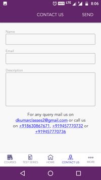 D Kumar Classes screenshot 1