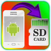 Apps Files To Sd card icon