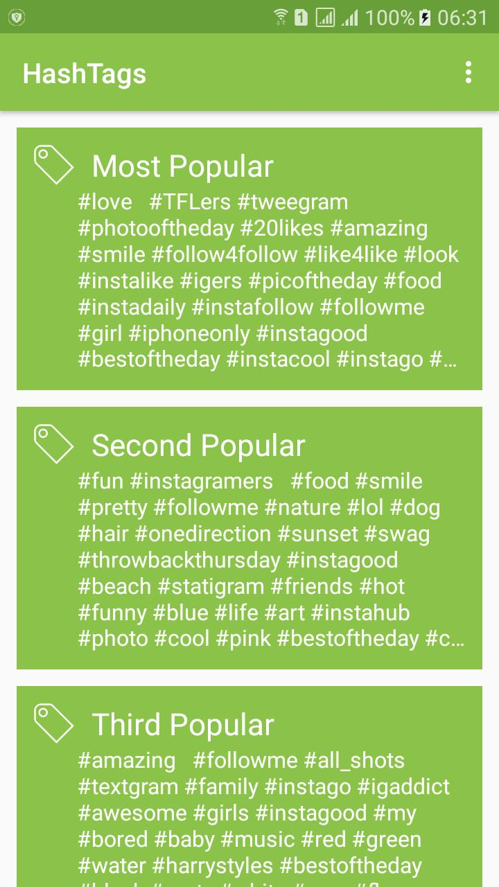 download apk likes for instagram - hashtags