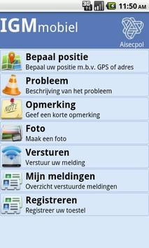 IGM mobiel poster