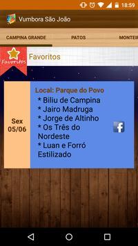 Vumbora São João 2015 screenshot 4