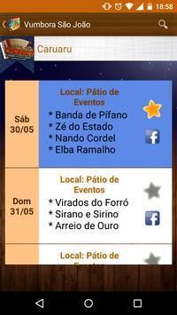 Vumbora São João 2015 screenshot 3