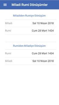 Takvim Çevirici apk screenshot