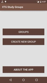 IITG Study Groups apk screenshot