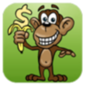 Bananas of the jungle icon