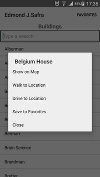 HUJI Navigation screenshot 2