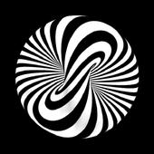 Optical ilusion Free icon