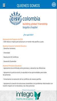 CISV Bogotá screenshot 1