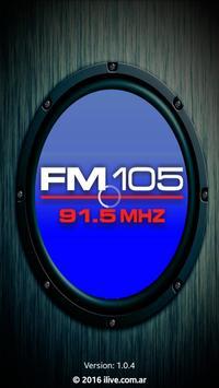 FM 105 poster