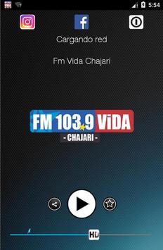 Fm Vida Chajari poster