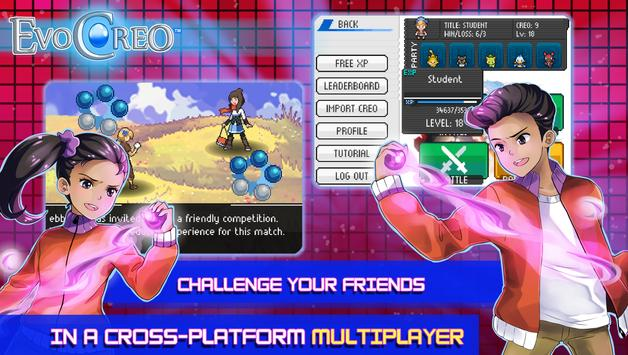 EvoCreo - Lite: Pocket Monster & Master Trainer screenshot 12