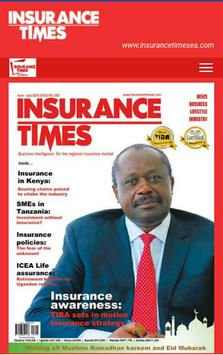 Insurance Times Magazine poster