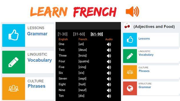 Learn French apk screenshot