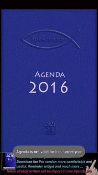 Agenda 2016 poster