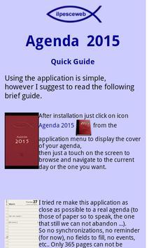Agenda 2016 apk screenshot