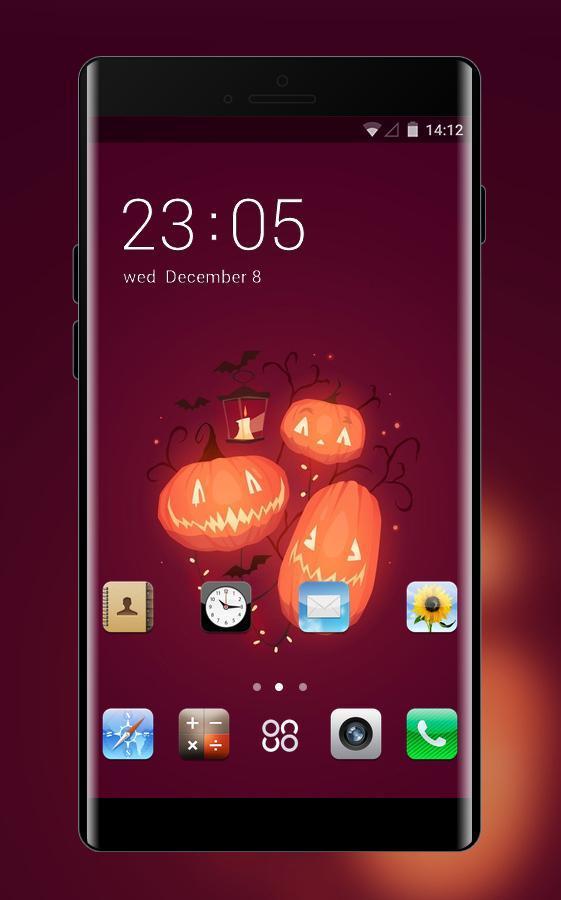 Halloween Pumpkin Wallpaper Iphone.Theme For Iphone 6 Halloween Pumpkin Wallpaper For Android Apk