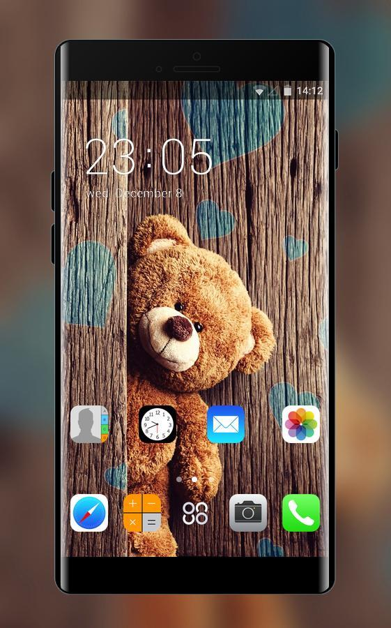 Themes For Iphone 7 Teddy Bear Wallpaper Hd For Android