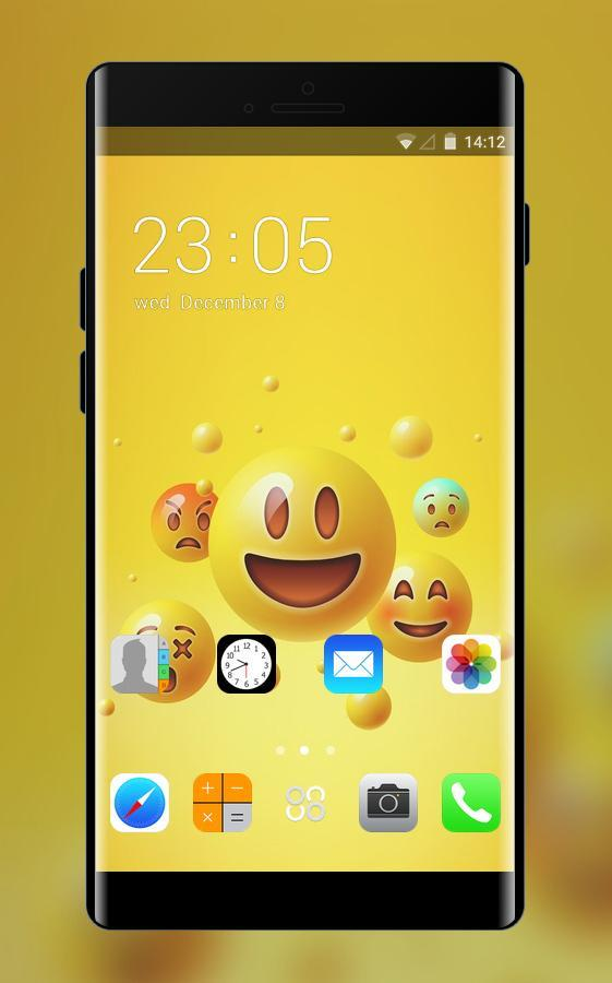 Theme For Iphone 7 Plus Emoji Wallpaper Hd For Android