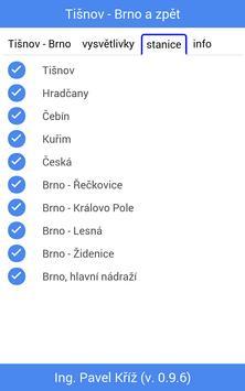 Jízdní řád: Tišnov - Brno screenshot 3
