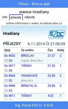 Jízdní řád: Tišnov - Brno screenshot 4