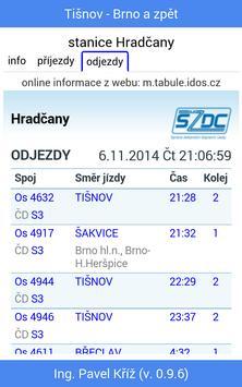 Jízdní řád: Tišnov - Brno screenshot 5