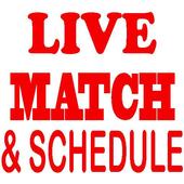Live Match Score & streaming icon