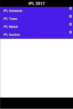 IPL 2017 screenshot 1