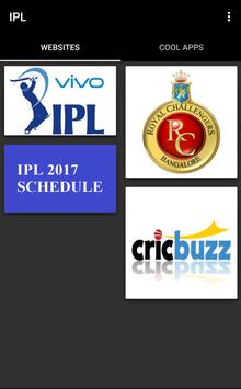 2017 IPL Schedule & live score apk screenshot