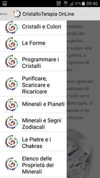 Cristalloterapia OnLine screenshot 1
