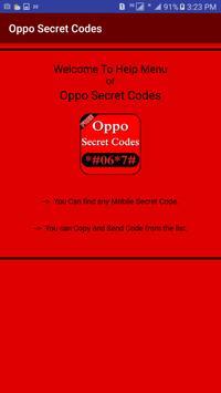 Secret Codes Of Oppo screenshot 2
