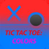 Tic Tac Toe: colors icon