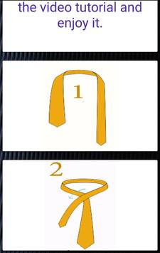 stylish Tie , How To Tie a Tie screenshot 4