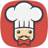 آشپزی با سرآشپز پاپیون 图标