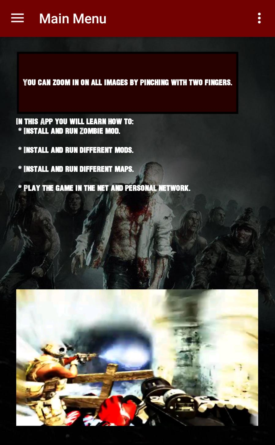 Zombie COD4 for Android - APK Download