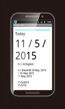 Learning English: eChat 2015 screenshot 13