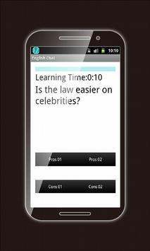Learning English: eChat 2015 screenshot 4