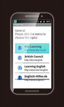 Learning English: eChat 2015 screenshot 6