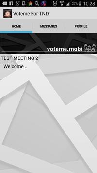 Voteme for TND apk screenshot