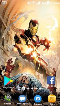 Iron Infinity Wars Wallpapers HD screenshot 5