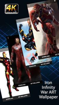 Iron Infinity Wars Wallpapers HD screenshot 2