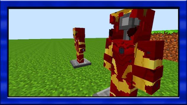 new ironman mod for minecraft pe para android  apk baixar