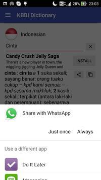 KBBI - Kamus Besar Bahasa Indonesia screenshot 2
