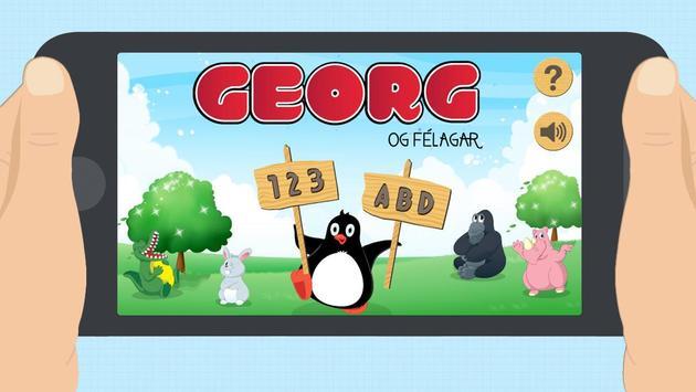 Georg og félagar poster
